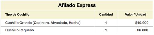 afilado-express-valores